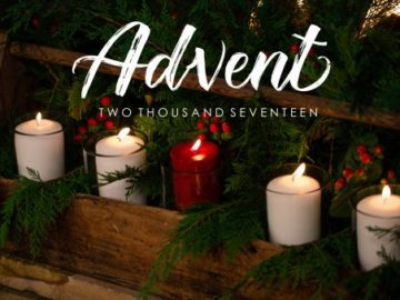 Advent 2017 – A letter from the Pastor…